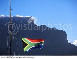 SAflag and mountain